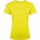ProAct női technikai póló (fluorescent yellow)