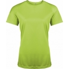 ProAct női technikai póló (lime)