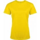 ProAct női technikai póló (true yellow)