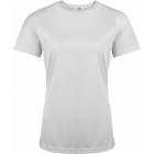 ProAct női technikai póló (white)