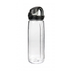 Nalgene Everyday OTF Bottle 0,7 l-es italtartó kulacs (Clear bottle/Black closure)