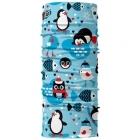 4 Fun Standard Kid többfunkciós gyermek csősál (Winter Penguin)