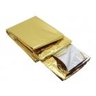 Emergency blanket 2 sides (gold / silver)